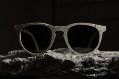Shwood 'The Stone Collection' - #stone #eyewear made of real slate