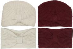ANNAWII ♥ - KNITTED HAT AND HEADBAND