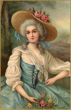 Marie Antoinette style.