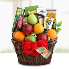 Fruit basket restaurante pinterest melbourne and fresh flowers find this pin and more on gift baskets negle Choice Image