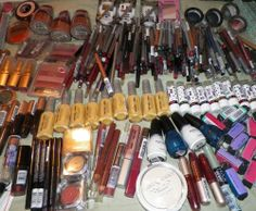 200 items makeup lot assorted hand picked brand new eyes lips face beauty  #Assorted