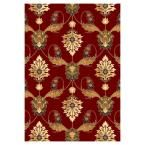 Venetian Red 9 ft. 10 in. x 13 ft. 2 in. Area Rug