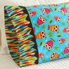 DIY Sewing Projects- Pillowcase Ideas - Prairie Point Pillowcase Tutorial at http://diyjoy.com/sewing-projects-diy-pillowcases-ideas