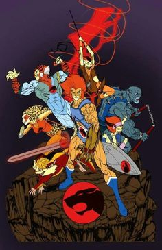 Thundercats: my favorite cartoon growing up! Old School Cartoons, Retro Cartoons, Old Cartoons, Cartoon Tv, Classic Cartoons, Vintage Cartoon, Cartoon Shows, Comic Book Characters, Comic Character