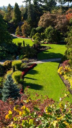 Queen Elizabeth Park, Vancouver | i miss my beatiful jogging track in the hood