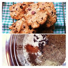 Spiced Brown rice and Flax seed shortbread cookies #GF #DF