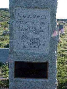 """* Sacajawea *  Ameríndia Shoshone. Guia e Intérprete na """"Expedição de Lewis e Clark"""" (1804-1806)."""