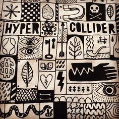 #hypercollider @Dodeshillinglaw bags still available at the @MorganSeating #Clerkenwell #showroom! #morganlondon #art