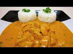 Kuřecí prsa na kari s jasmínovou rýží - YouTube Risotto, Grains, Good Food, Ethnic Recipes, Youtube, Per Diem, Healthy Meals, Youtubers, Eating Well