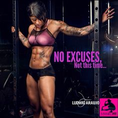No excuses, not this