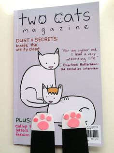 Review: Two Cats Magazine: The First Magazine For Cats, By Cats