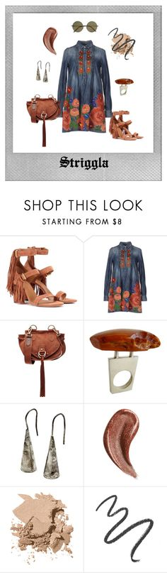 """Bohemian 3"" by striggla on Polyvore featuring Polaroid, Chloé, Dsquared2, See by Chloé, Heidi Abrahamson, Gucci, Bobbi Brown Cosmetics, Maybelline and Victoria Beckham"