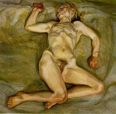 Lucian Freud, Naked girl asleep, II
