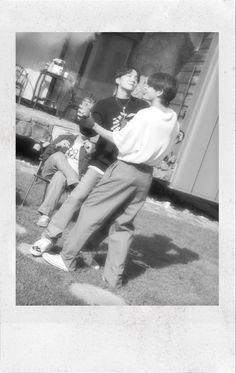 Foto Bts, Bts Photo, Bts Polaroid, Polaroids, Bts Aesthetic Pictures, About Bts, Kpop, Bts Edits, Namjin