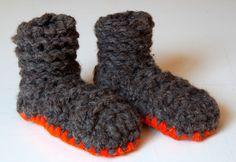 pantuflas - wollhausschuhe - yogastiefel