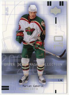 Marian Gaborik # 46 - 2001-02 Upper Deck Mask Collection Hockey