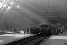 Stazione Centrale, 1945 #milano #fotografia #storia
