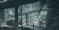 Iznama - Interior of Military Base, Jessica Smith on ArtStation at http://www.artstation.com/artwork/iznama-interior-of-military-base
