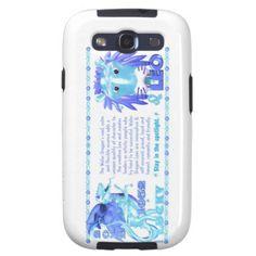 Valxart 2012 2072 1952 WaterDragon zodiac Leo Galaxy S3 Case