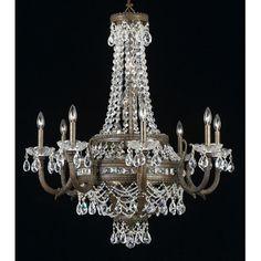 Classic Lighting Alpha 18 Light Crystal Chandelier