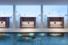 La piscine du spa Mandarin Oriental à Paris (1er)DR