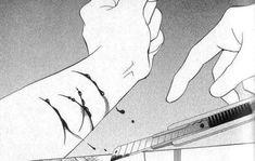 anime tumblr black and white alone - Buscar con Google