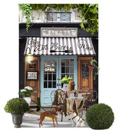 """""""#parisbistro"""" by suelb ❤ liked on Polyvore featuring interior, interiors, interior design, home, home decor, interior decorating, Malabar, Universal Lighting and Decor, Jura and Dot & Bo"""