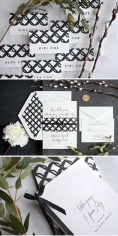 wedding invitations by hello tenfold | photographs by ellie snow and lissa gotwals | styling by michelle smith and ellie snow