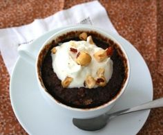 Low Carb Chocolate Mug Cake Recipe | All Day I Dream About Food
