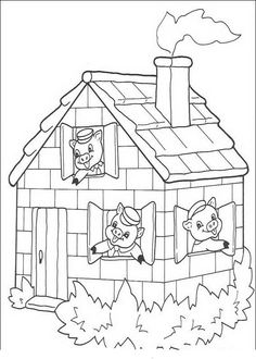 Three Little Pig Coloring Pages New 🎨 Three Little Pigs 13 Kizi Free Coloring Pages for House Colouring Pages, Disney Coloring Pages, Coloring Pages To Print, Free Coloring, Coloring Pages For Kids, Coloring Sheets, Coloring Books, Coloring Worksheets, Coloring Pages Inspirational