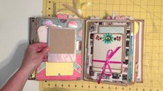 I made this album for 2013 Creative Keepsakes Convention memories. It is the vertical paper bag mini album by My Sister's Scrapper, and you can find the vide...- MichelleAllen