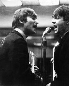 The Beatles John Lennon And Paul McCartney