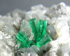 Grow crystals using chemistry.
