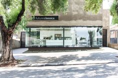Street View of our Trendy New Space in Parkhurst, Johannesburg, South Africa News Space, Kitchen Design, Kitchen Ideas, Marina Bay Sands, Signage, Street View, Future, Interior Design, Building