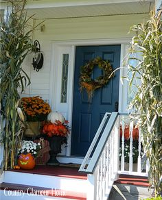 Country Glamour Home: The Front Porch....Autumn Style