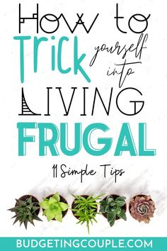 Check out the frugal tips you need to trick yourself into saving money and living frugally this year! Start to save money every day without even feeling like it when you learn how to be a frugal living expert! Best Money Saving Tips, Saving Money, Money Tips, Money Hacks, Frugal Living Tips, Frugal Tips, Save Money On Groceries, Ways To Save Money, Earn Money