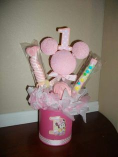 Centro de mesa de baby mini