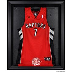 b108ad44e4f Toronto Raptors Fanatics Authentic Black Framed Hardwood Classics 1995 -  2015 Logo Jersey Display Case