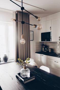 46 Light and Style Scandinavian Living Room Design Living Room Table Sets, Living Room Modern, Living Room Decor, Kitchen Interior, Room Interior, Interior Design Living Room, Living Room Inspiration, Interior Inspiration, Luxury Loft