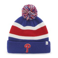 a3efd1c29c4 Philadelphia Phillies Breakaway Cuff Knit Royal 47 Brand Hat