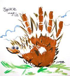 alligator hand print | Hand Animals | Ink Spot Live Art Entertainment | Ramon Sena