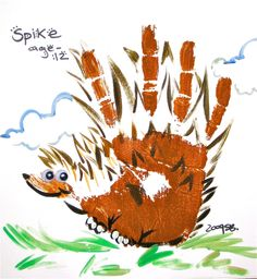 alligator hand print   Hand Animals   Ink Spot Live Art Entertainment   Ramon Sena