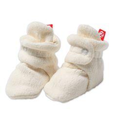 Cream Cozie Baby Booties