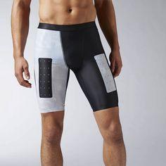 Reebok - Reebok CrossFit Compression Printed Short Crossfit Shorts 1fb67613e61af