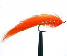 Matuka Orange Steelhead Fly