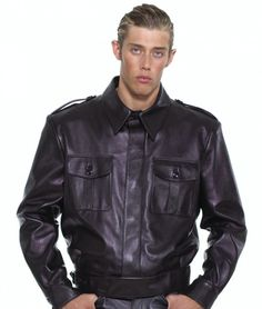 This Best Leather Jacket For Men will have you looking perfectly put together for casual occasions and is perfect for clubbing, motorcycling and wearing to the fetish club.  #BestLeatherJacketformen