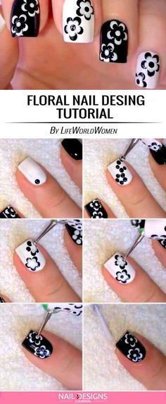 nail art designs easy / nail art designs + nail art + nail art videos + nail art designs for spring + nail art designs easy + nail art designs for winter + nail art diy + nail art designs summer Trendy Nail Art, Cute Nail Art, Nail Art Diy, Beautiful Nail Art, Diy Gel Nails, Nail Art Ideas, Diy Nails At Home, Gorgeous Nails, Beautiful Ladies