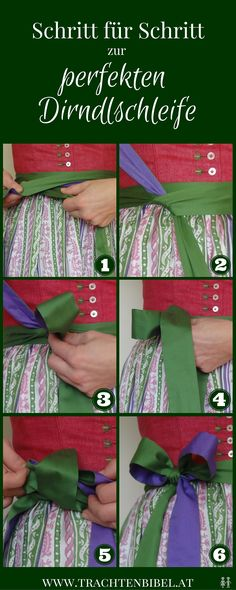 Die perfekte Dirndlschleife binden – So geht's! So binden Sie eine perfekte Dirndlschleife! how you tie your dress has meaning! To the left single- to the right married or taken, in back widowed and in front center virgin. Oktoberfest Outfit, Oktoberfest Party, Outfits With Vans, Diy Dress, Dress Outfits, German Outfit, Petal Sleeve, Outfits Mujer, Dresses Short