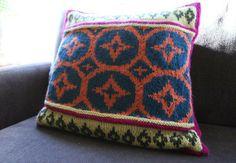 Steeked Fair Isle Pillow - Creativebug