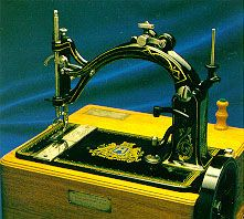 "A stitch in time! Husqvarna Viking's original ""cat back"" sewing machine, the Nordsjernan™ (Northern Star) was first built in 1872."